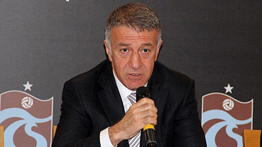 Ahmet Ağaoğlu: Avrupanın gözü Trabzonsporda