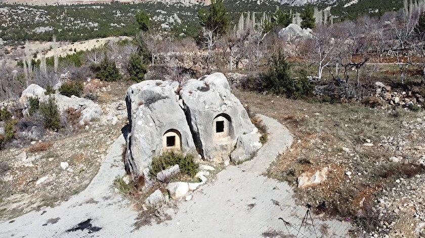 Türkiyede başka örneği yok: Hitit dönemine ait anıt mezar ziyaretçilerini bekliyor
