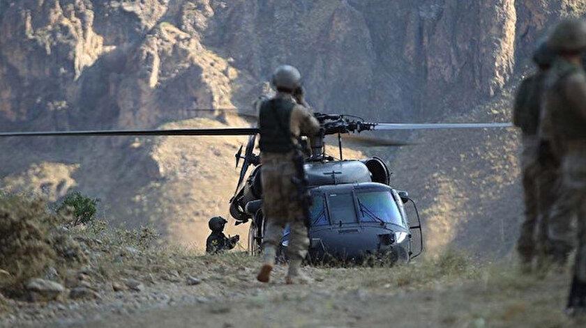 MSB: Pençe operasyonları kapsamında tespit edilen 2 PKK'lı terörist etkisiz hale getirildi
