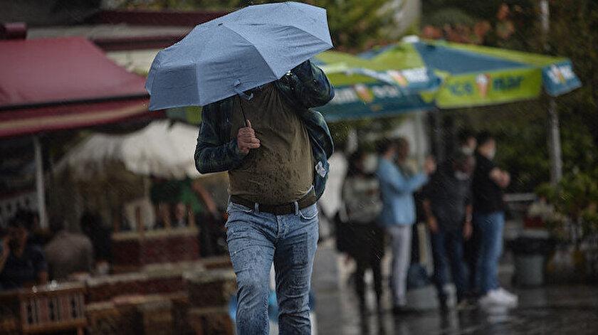 Türkiyenin bazı bölgelerinde yarın sağanak bekleniyor! Edirne, Antalya, İzmir, Hatay, Sivas hava durumu