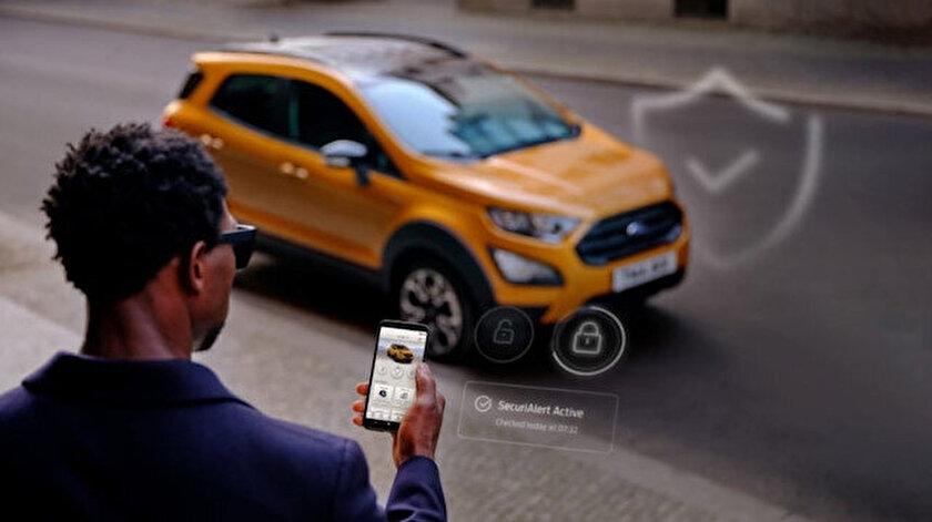 Ford SecuriAlert sistemi ek güvenlik özellikleri getiriyor