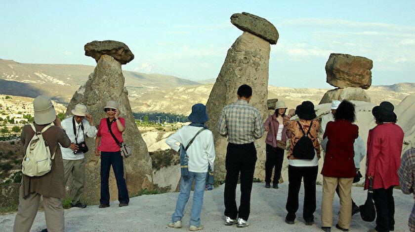 Kapadokyayı mayıs ayında 61 bin 634 turist ziyaret etti
