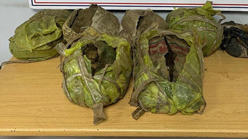Hakkari haberleri: Hakkaride 163 kilogram eroin yakalandı