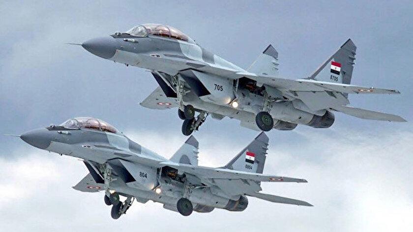 Mısır ve Fransadan ortak hava tatbikatı