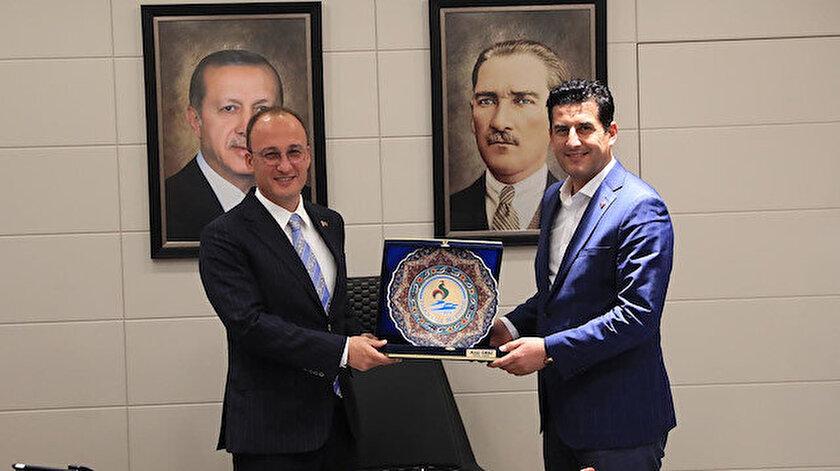 Başkan Örki AK Parti yönetimini ağırladı