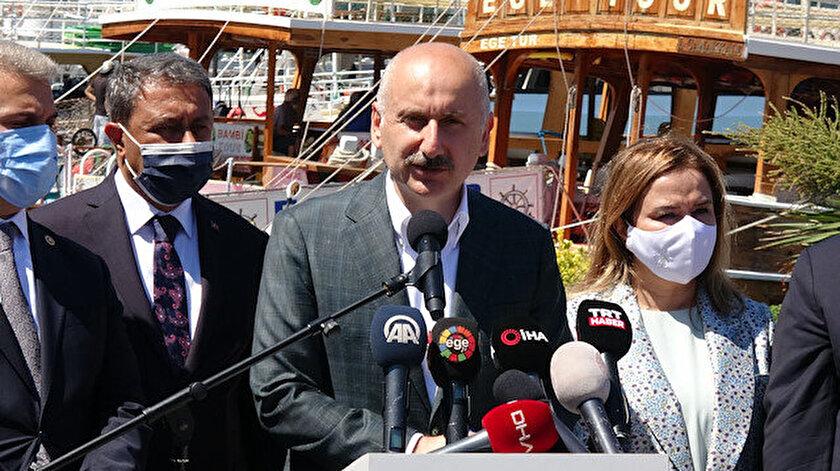Bakan Karaismailoğlu Projeleri başlattık diyerek duyurdu: Ayvalıka modern balıkçı barınakları yapılacak