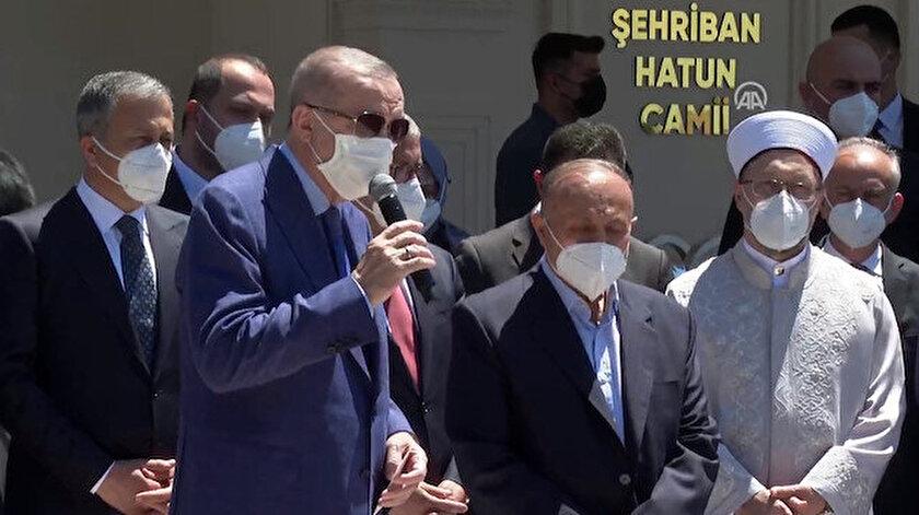 Cumhurbaşkanı Erdoğan: Eylem yapın ben de geleceğim