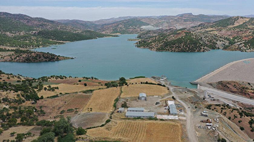Kilis Yukarı Afrin Barajı Cumhurbaşkanı Erdoğanın katılımıyla açıldı