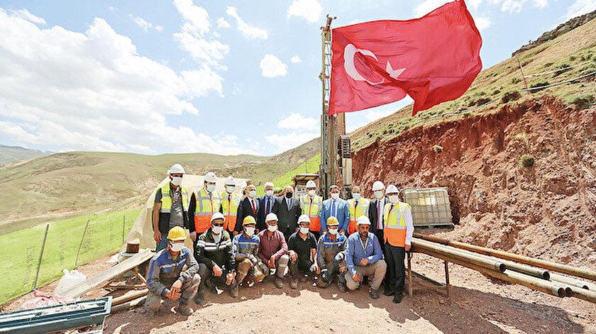 Ağrı'ya altın yatırım: 160 milyon dolarlık tesisin temeli atıldı
