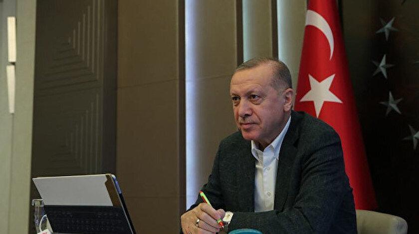 Cumhurbaşkanı Erdoğan Türk Kızılayın kuruluş yıl dönümünü kutladı: İftihar ediyoruz