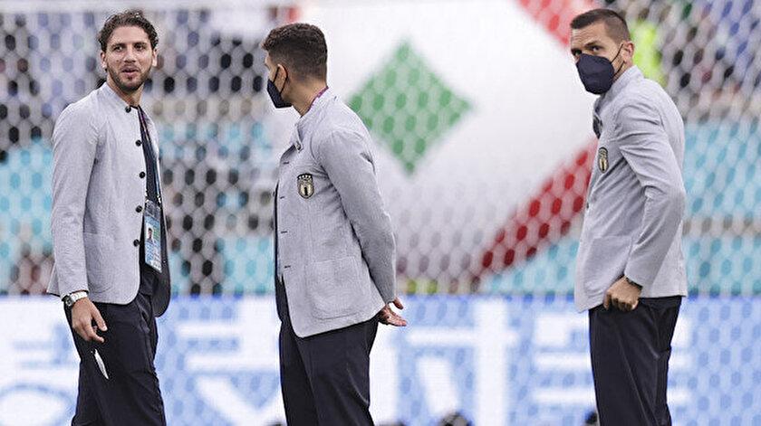 İtalyan futbolcular tribünleri görünce şaşkınlık yaşadı