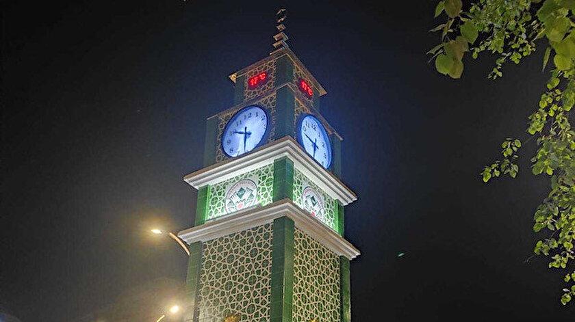 Giresun Belediyesinin saat kulesi açıklaması