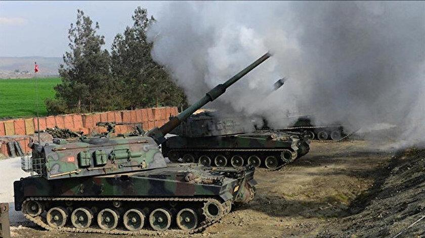 Tel Rıfattaki PKK hedefleri yerle bir edildi