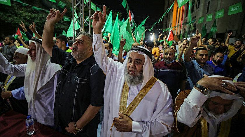 Hamastan 15 Haziran için Mescid-i Aksada toplanma ve genel seferberlik çağrısı