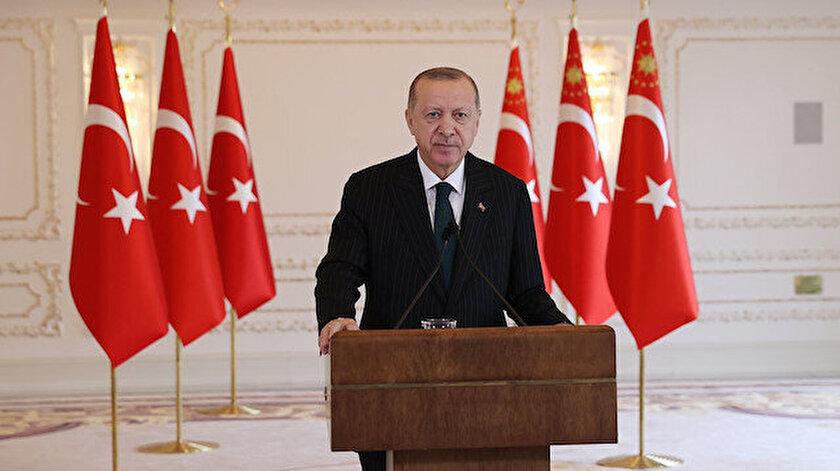 Cumhurbaşkanı Erdoğandan NATOya mesaj: Müttefiklerimiz terör örgütü elebaşılarını ağırladı