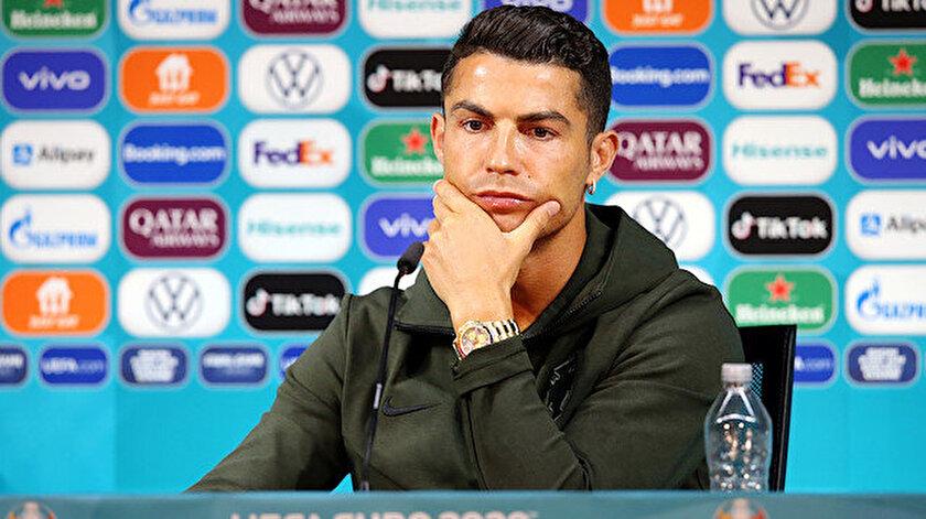 Portekizin Macaristan maçı öncesi basın toplantısında Ronaldodan dikkat çeken mesaj