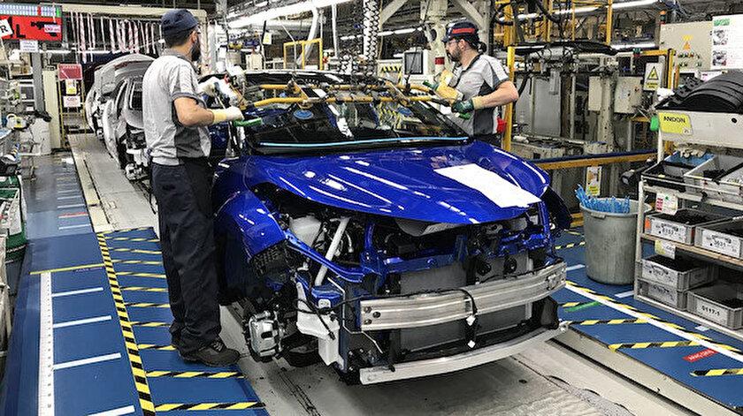 Türkiye'nin otomotiv üretimi ilk 5 ayda yüzde 28 arttı - Yeni Şafak