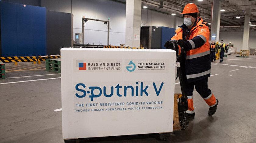 Rus Kovid-19 aşısı Sputnik V Türkiyede