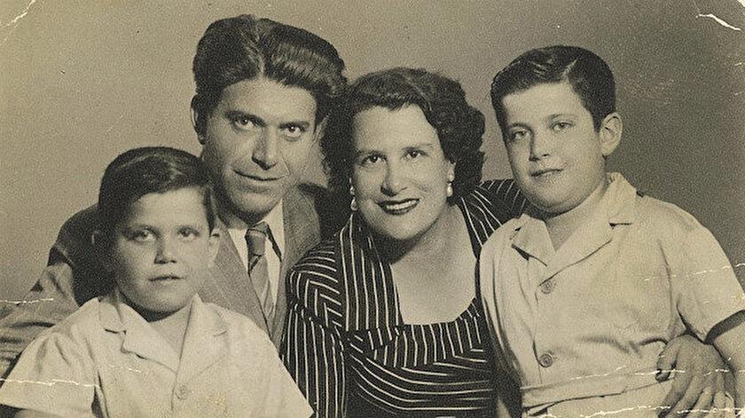 Bir şarkiyât alimi Ahmet Ateş ve ailesi