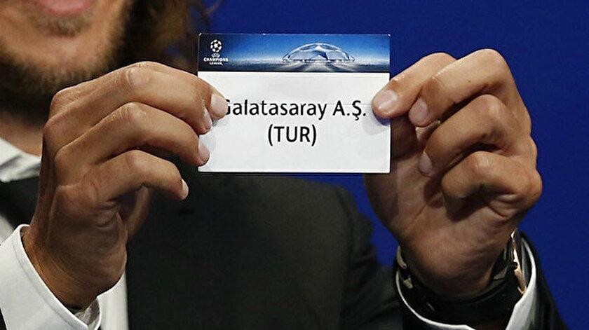 Galatasarayın rakibi belli oldu