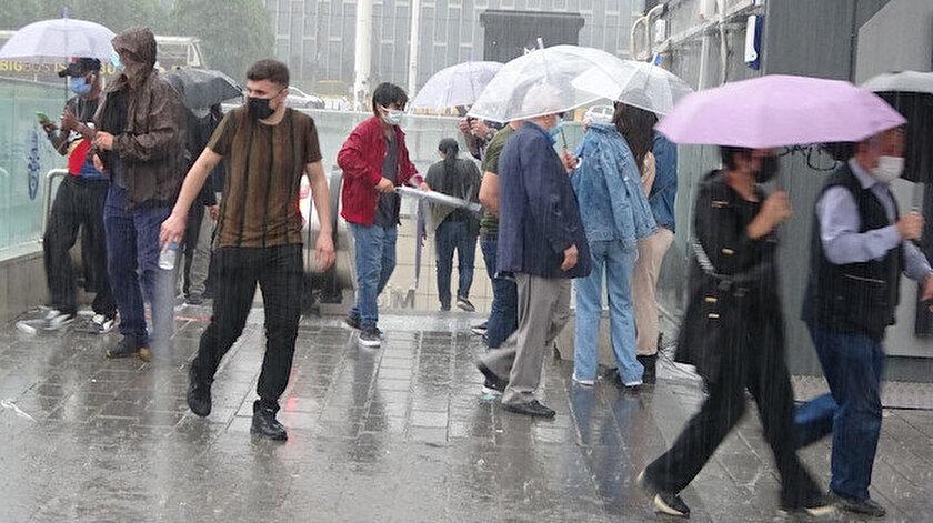 İstanbul ve Trakya için çok kuvvetli yağış uyarısı! İstanbul, Edirne, Kırklareli, Tekirdağ hava durumu