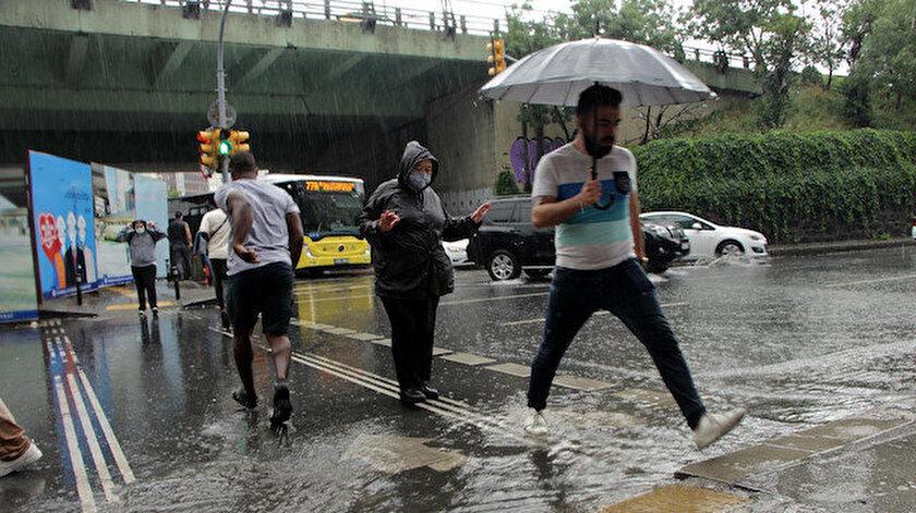 19 Haziran hava durumunda sağanak yağış uyarısı: İstanbul, İzmir, Ankara il il hava durumu