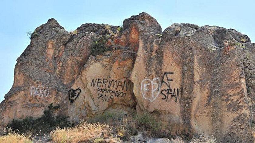 Kapadokyanın yapısını bozanlara 200 bin lira ceza