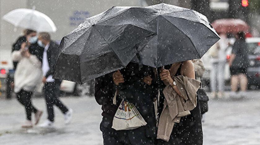 Meteoroloji uyardı! İstanbul, Ankara, Afyonkarahisar, Denizli, Düzce, İzmir hava durumu