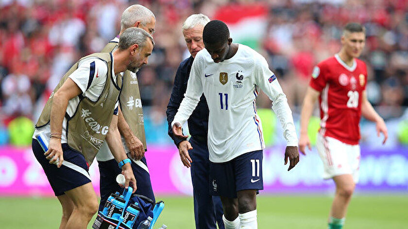 Ousmane Dembele, EURO 2020yi kapattı