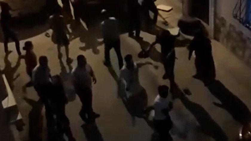 Bursada çocukların kavgasına aileler katılınca ortalık savaş alanına döndü