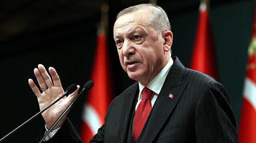 Cumhurbaşkanı Erdoğan AB Komisyonu Başkanı von der Leyen ile görüştü