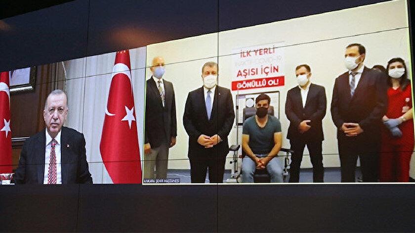 Yerli aşının adı ne oldu? Cumhurbaşkanı Erdoğan yerli aşının adını açıkladı