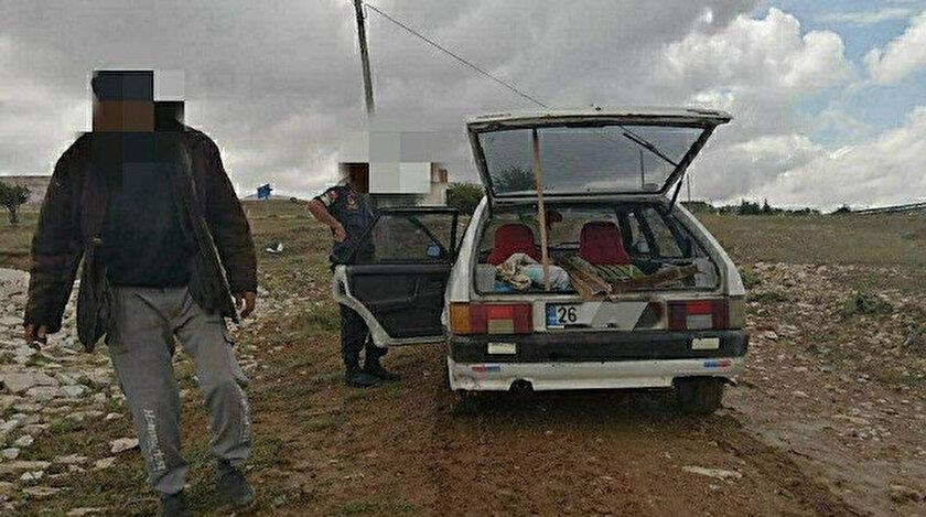 Bin 500 liralık demir çalarken yakalandı: 900 liralık maske cezası yedi