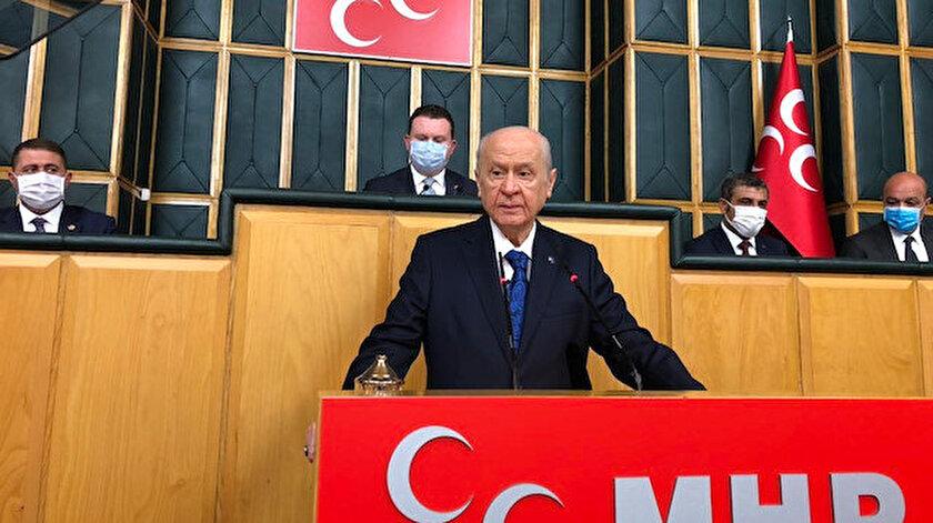 Bahçeliden AYMnin HDP kararına ilk yorum: Adaletin tecellisi için ümit vericidir