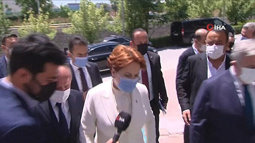 Meral Akşener ve Kemal Kılıçdaroğlu Türkkanın korumalarının saldırısıyla ilgili soru karşısında sessiz kaldı