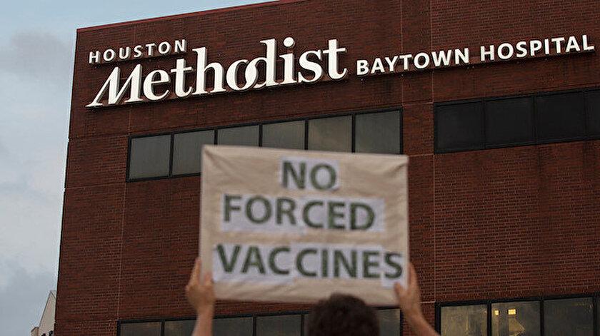 Koronavirüs Haberleri: ABDde Kovid-19 aşısı olmayı reddeden 153 hastane çalışanı işten çıkarıldı