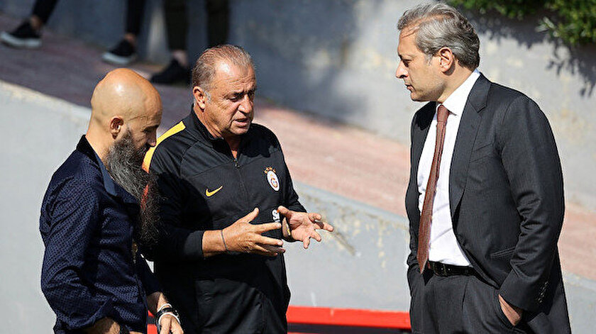 Galatasaray idmanındaki sürpriz isim sarı kırmızılı taraftarları heyecanlandırdı