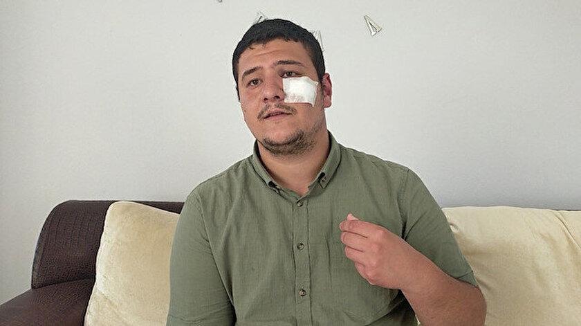 Lütfü Türkkanın korumaları tarafından saldırıya uğrayan gazeteci Mustafa Uslu Meral Akşeneri yalanladı