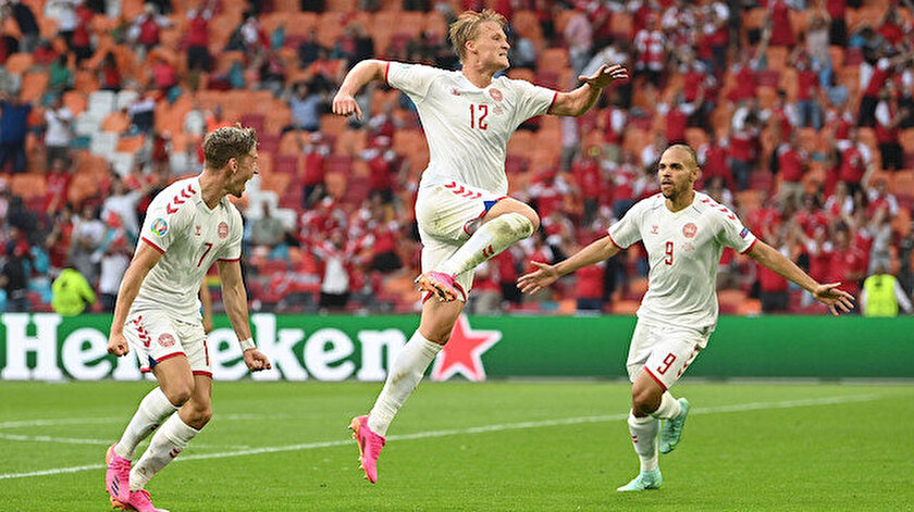 Galler-Danimarka maç özeti ve golleri izle
