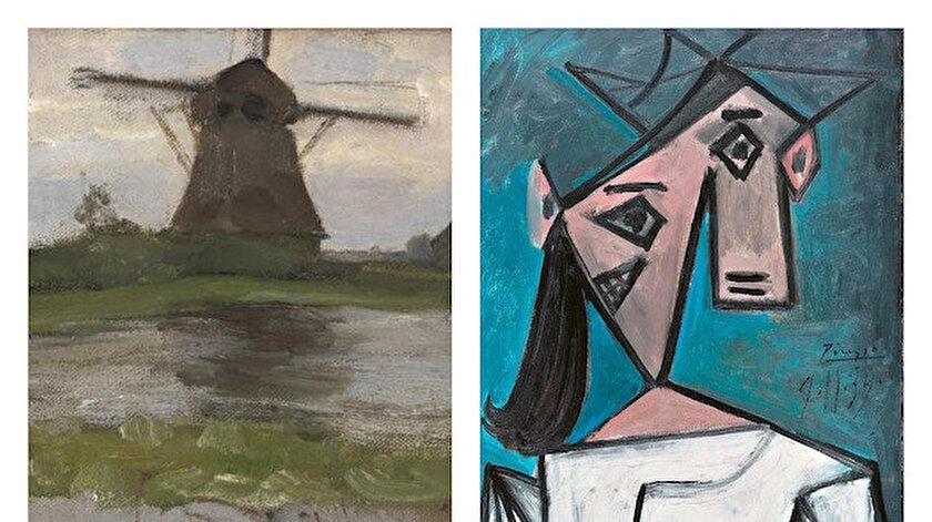 Dokuz yıl önce çalınmışlardı: Picasso ve Mondrian tabloları Yunanistanda bulundu