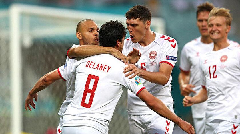 Çek Cumhuriyeti-Danimarka maç özeti ve golleri izle