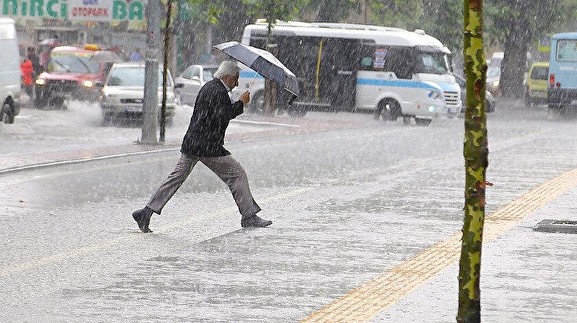 8 Temmuz hava raporunda kuvvetli yağış uyarısı:  İstanbul, Düzce, Zonguldak, Bartın il il hava durumu