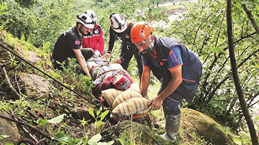Sel yıktı geçti: Düzce, Sakarya ve Zonguldak'ta dereler taştı