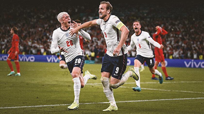 İngiltere uzatma bölümlerinde Danimarkayı yendi ve finale yükseldi