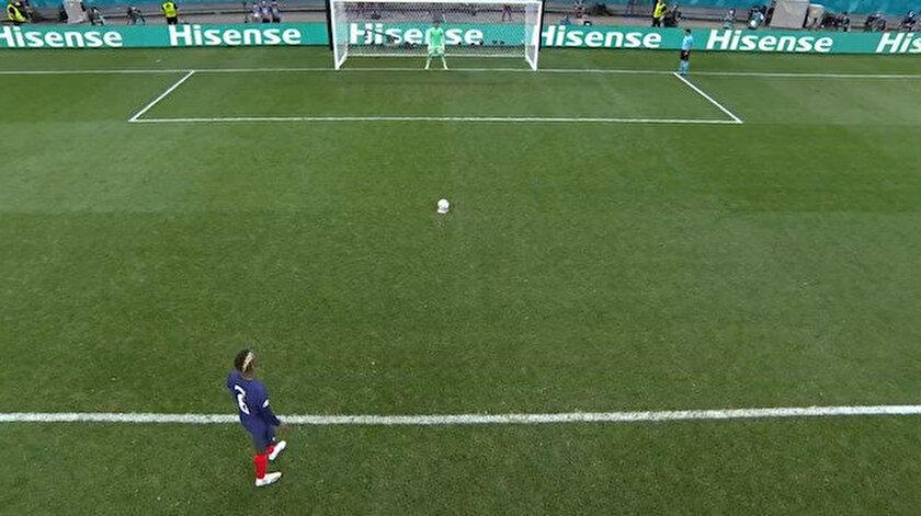 EURO 2020de penaltı atışları neden futbolcunun arkasından gösteriliyor?