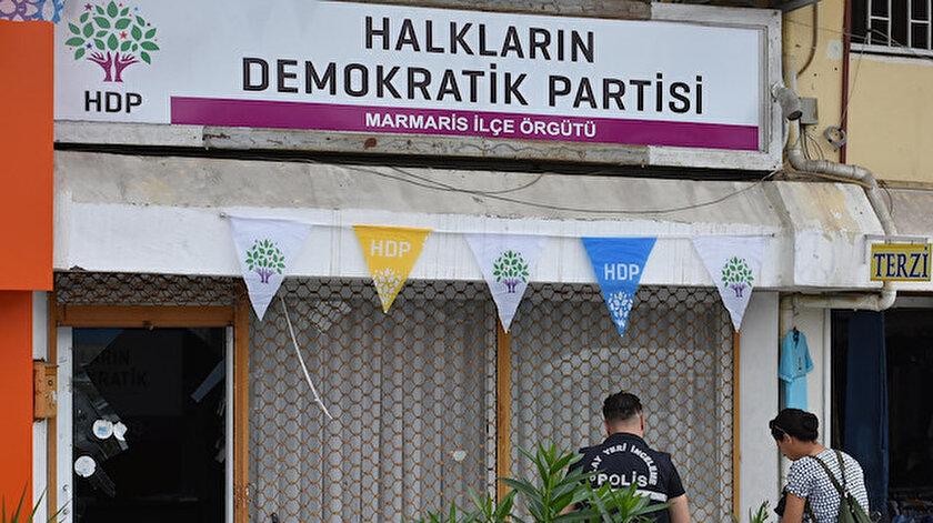 Son dakika Marmariste HDP ilçe binasına saldırı: Şüpheli gözaltına alındı