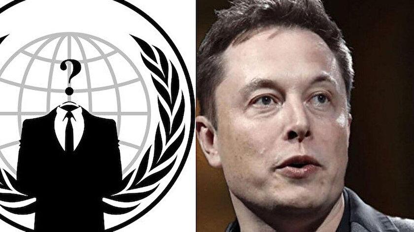 Anonymous Elon Musk ile savaşmak için kendi kripto para birimini çıkardı