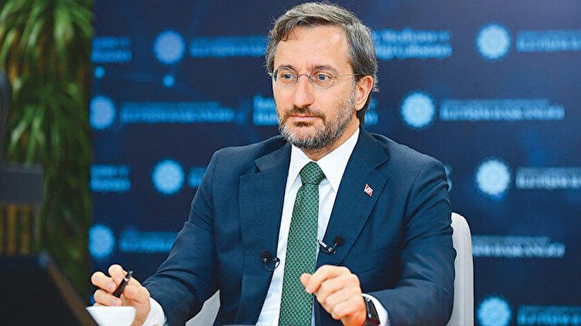 İletişim Başkanı Fahrettin Altun: İyi niyetin bir sınırı var!