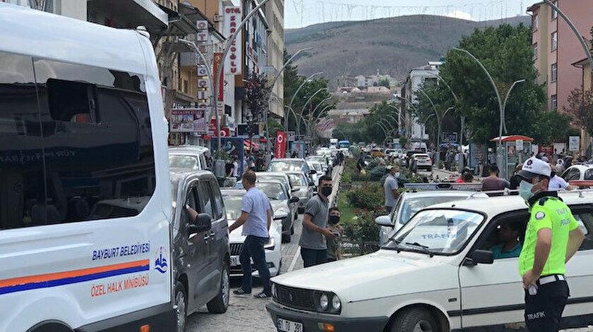 Türkiyenin en az nüfusa sahip ili Bayburt'ta nüfus ikiye katlandı