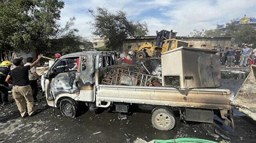 Irakın başkenti Bağdatta patlama: 33 kişi öldü